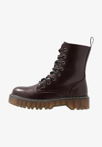 Coolway - CARDY - Platform ankle boots - burgundy - 1