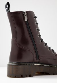 Coolway - CARDY - Platform ankle boots - burgundy - 2