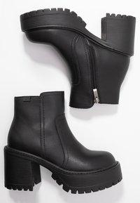 Coolway - BORNISE - Kotníková obuv na vysokém podpatku - black - 3