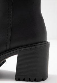 Coolway - BORNISE - Kotníková obuv na vysokém podpatku - black - 2