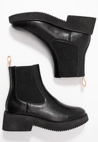 Coolway - RUMIE - Platform ankle boots - black - 3