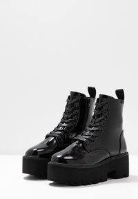 Coolway - ELIZA - Platåstøvletter - black - 4