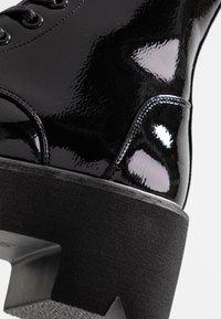 Coolway - ELIZA - Platåstøvletter - black - 2