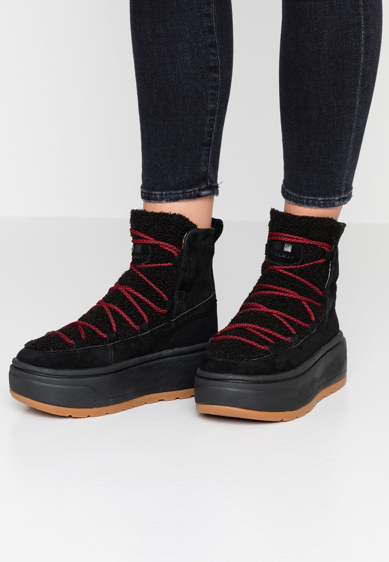 Coolway - RUDOLF - Ankle boots - black
