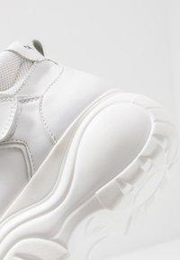 Coolway - HESTI - Sneakersy wysokie - white - 2