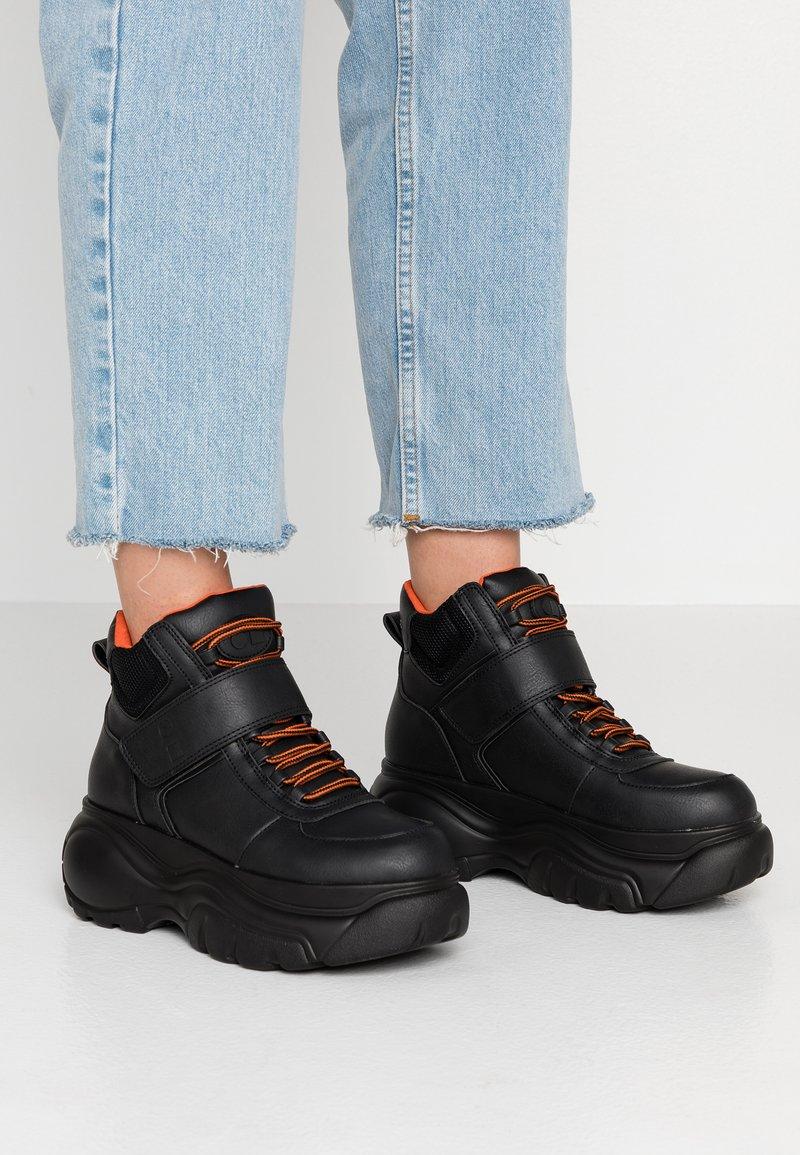 Coolway - HESTI - Sneakers hoog - black