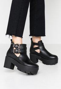 Coolway - NAHIA - Ankle boots - black - 0
