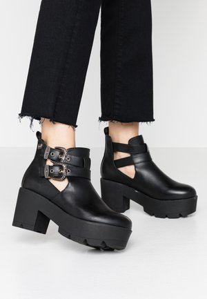 NAHIA - Ankelboots - black