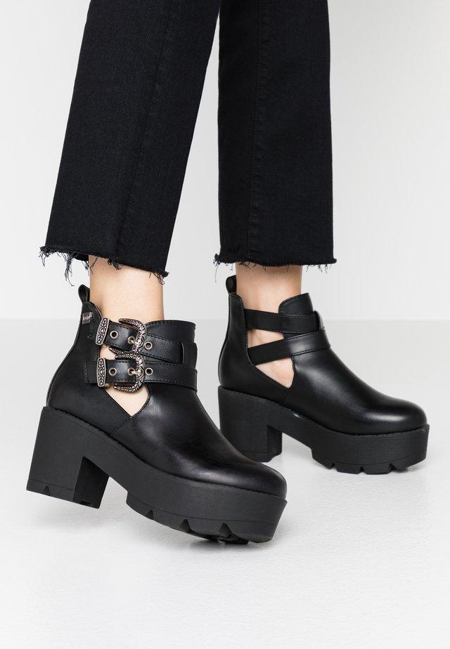 NAHIA - Ankle boots - black