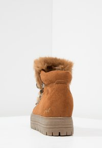 Coolway - OSLO - Ankle boots - cognac - 4