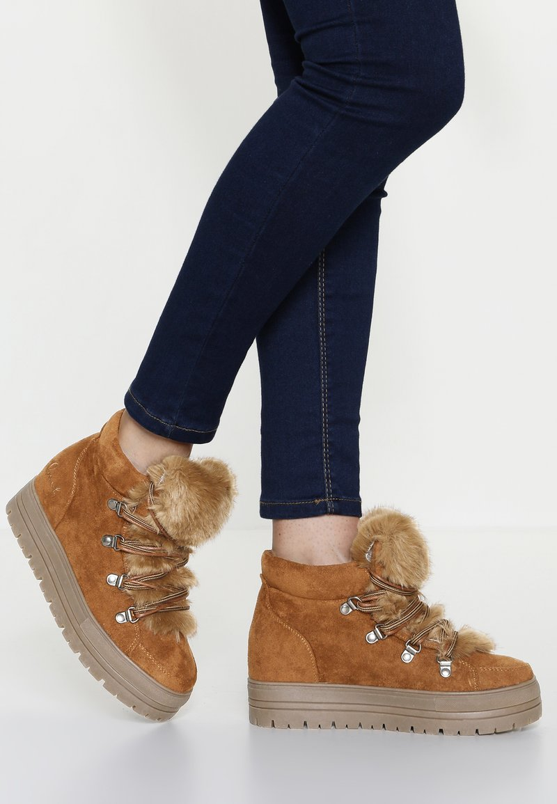 Coolway - OSLO - Ankle boots - cognac