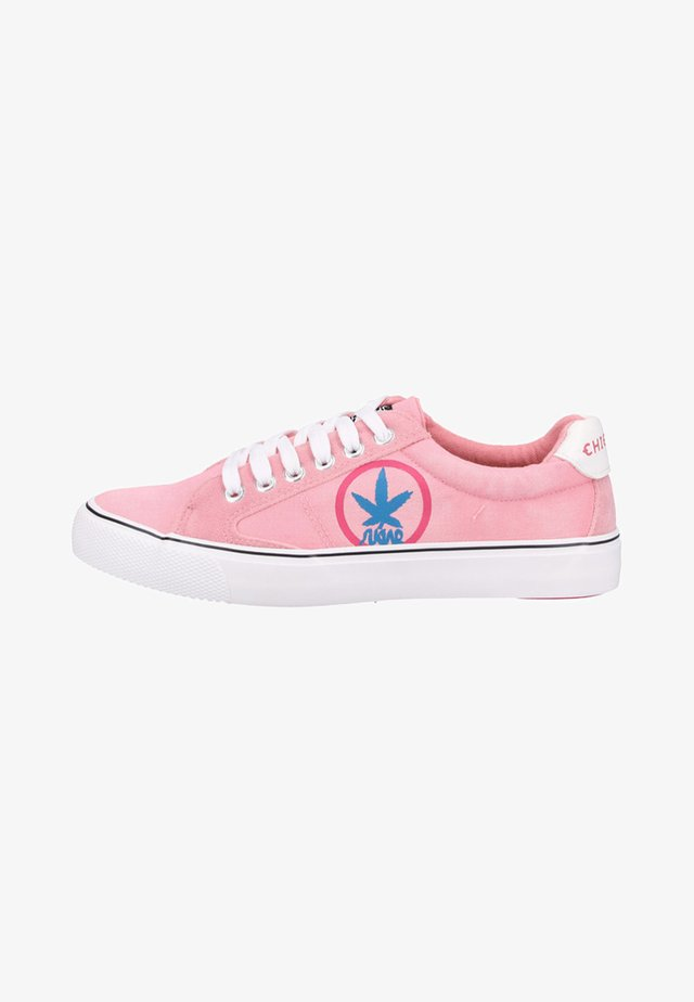 Sneaker low - coral blush