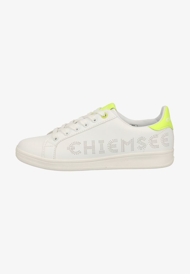 Sneaker low - white/flour yellow
