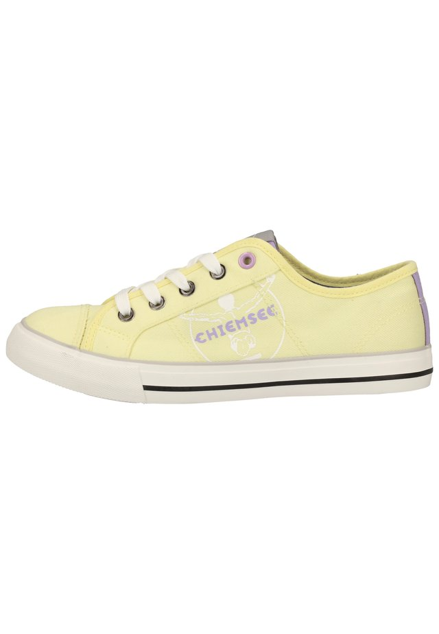 Sneaker low - washed yellow