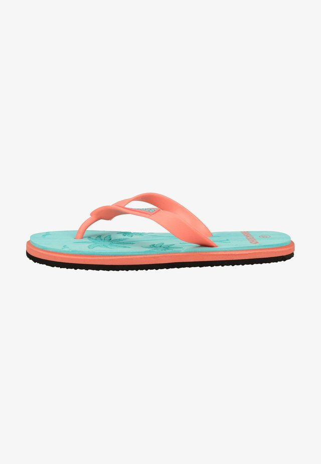 Sandales de bain - blau/orange