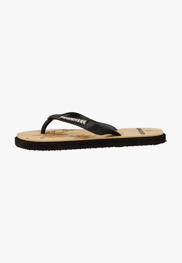 Sandales de bain - schwarz