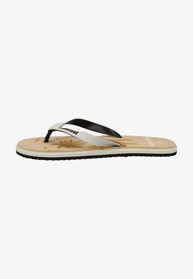 Sandales de bain - weiß