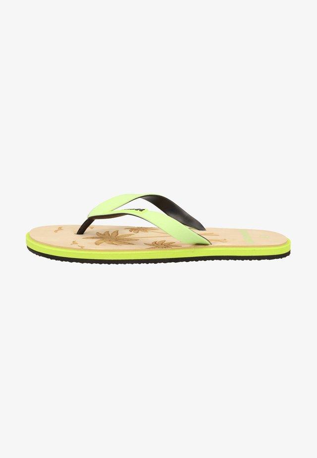 Sandales de bain - lime