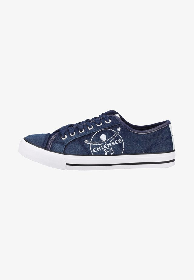 Sneakers laag - navy washed