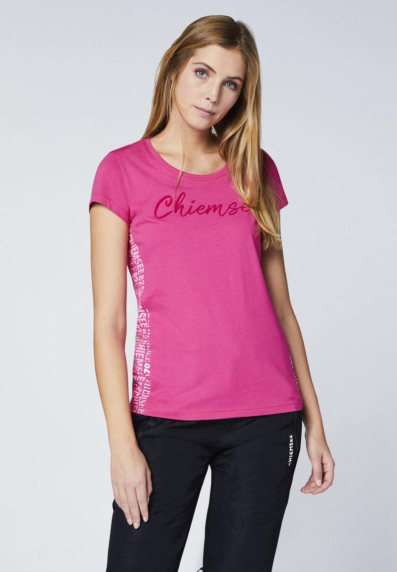 Chiemsee - T-Shirt print - magenta