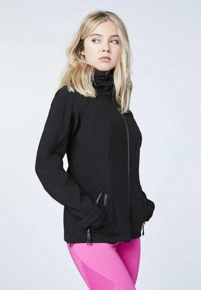 Outdoor jacket - deep black