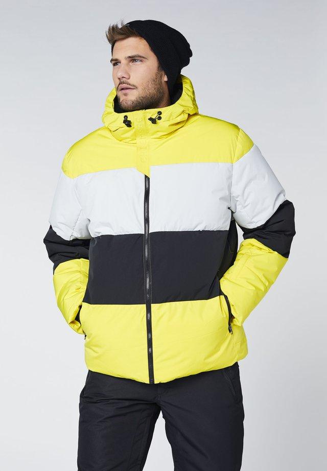 MIT BELÜFTUNGSSCHLITZEN - Snowboard jacket - aurora