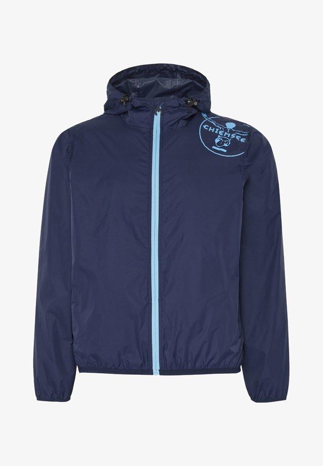 Waterproof jacket - black iris