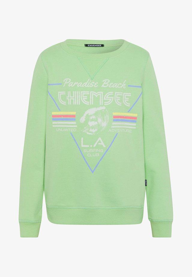 Sweatshirt - green ash
