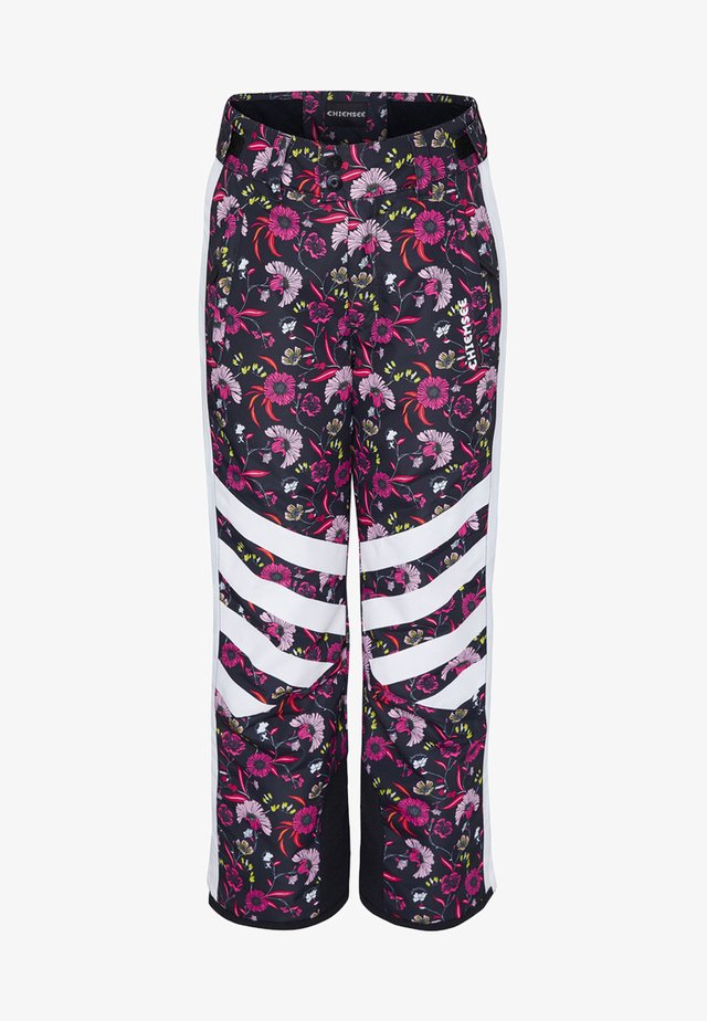 Trousers - black/pink
