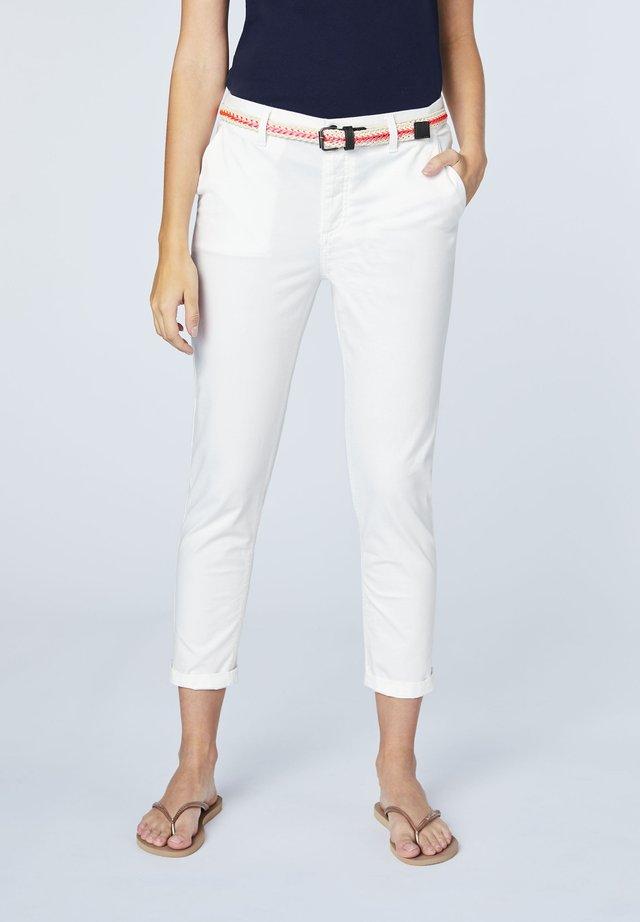 Chinos - bright white