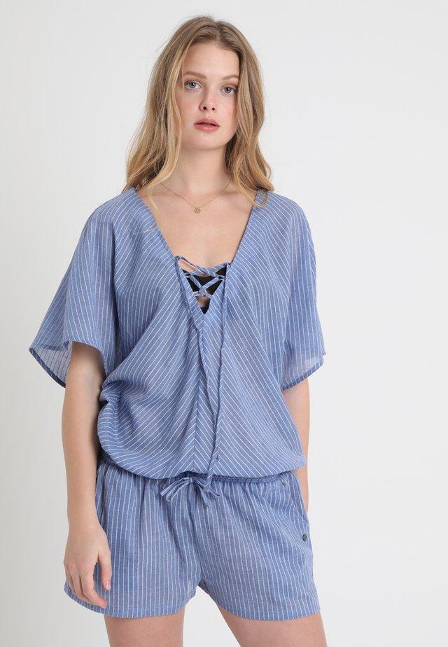 PIPELINE WOMEN JUMPSUIT REGULAR FIT - Strandaccessoire - medium blue/white