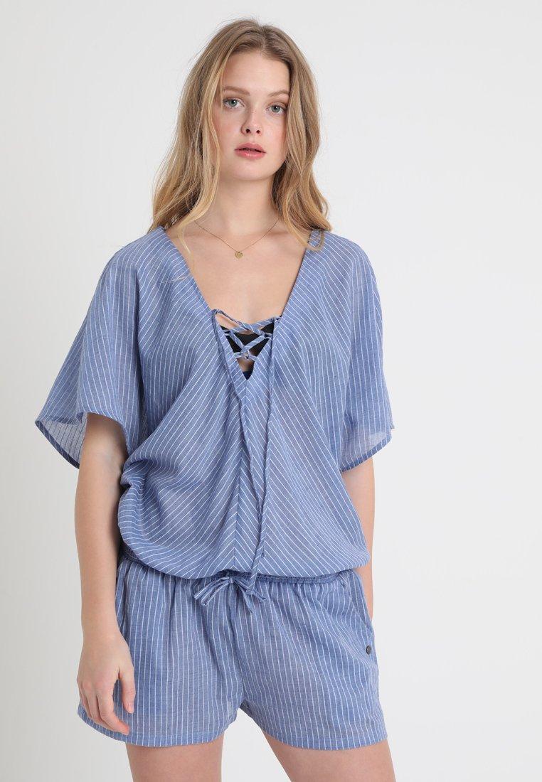 Chiemsee - PIPELINE WOMEN JUMPSUIT REGULAR FIT - Strand accessories - medium blue/white