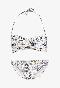 Chiemsee - EBONY SET - Bikini - white/black - 4
