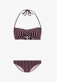 Chiemsee - EBONY SET - Bikiny - black/pink - 6