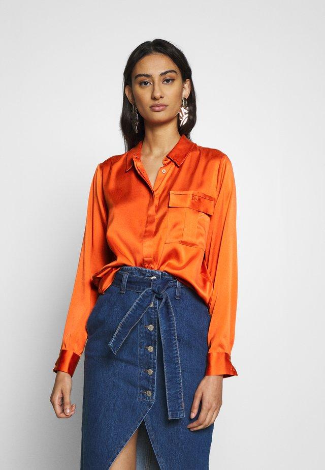 LUXE - Overhemdblouse - orangeade