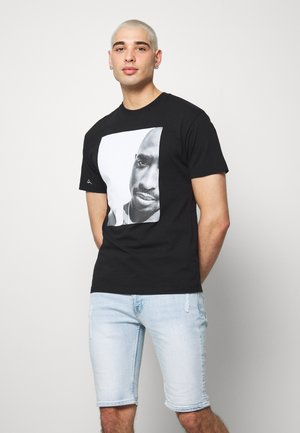 REALITY - T-shirt con stampa - black