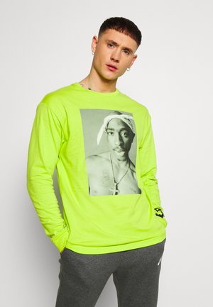 REALITY - T-shirt à manches longues - neon green