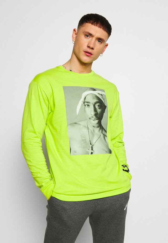 REALITY - T-shirt à manches longues - neon green