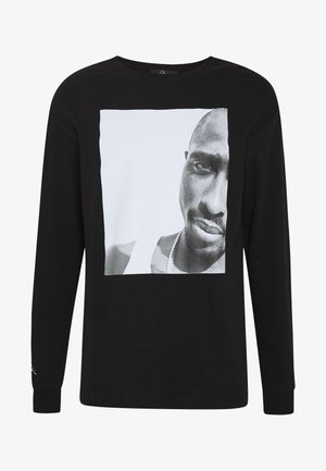 REALITY - Long sleeved top - black/white