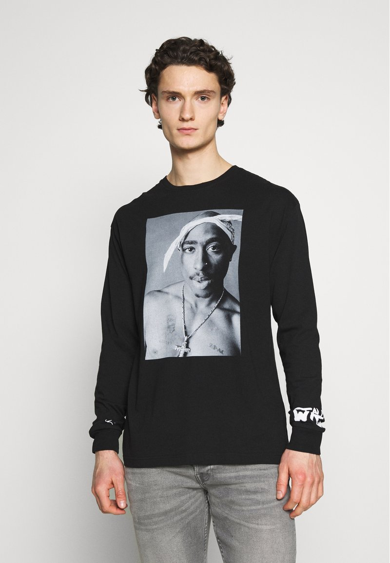 Chi Modu - REALITY - Long sleeved top - black/white