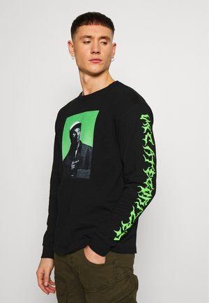UNCATEGORIZED - Langarmshirt - black/neon green