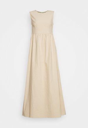 TANK DRESS - Robe longue - natural
