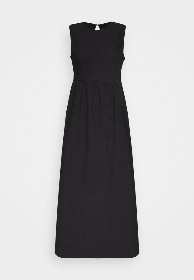 TANK DRESS - Maxi-jurk - black