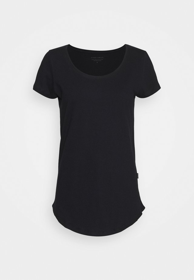 TEE - Basic T-shirt - midnight