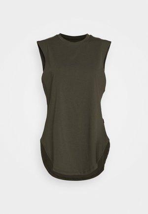 TEARDROP TANK - T-shirt - bas - olive