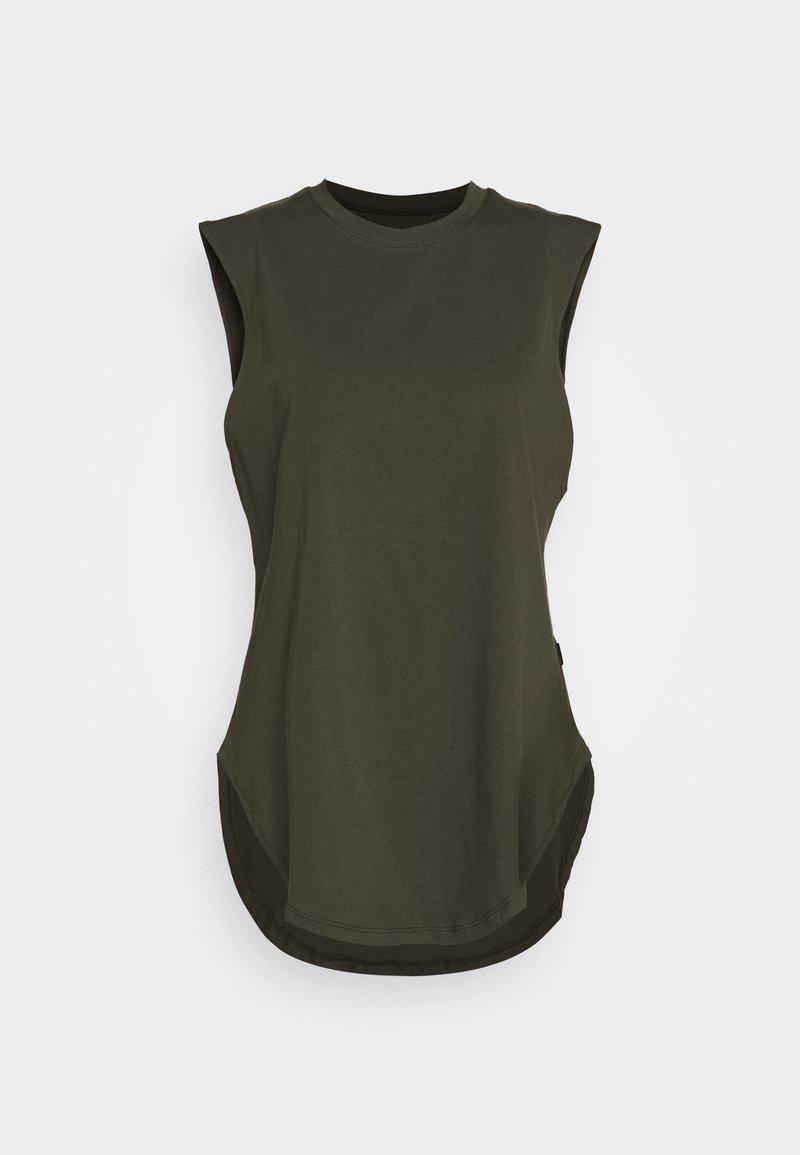 Casa Amuk - TEARDROP TANK - T-shirt - bas - olive