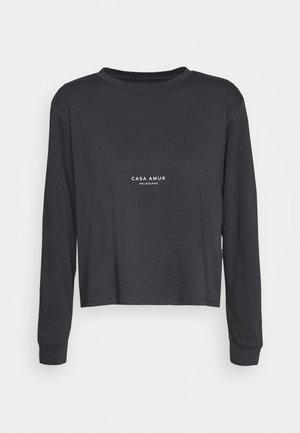 LOGO VINTAGE TEE - T-shirt à manches longues - asphalt
