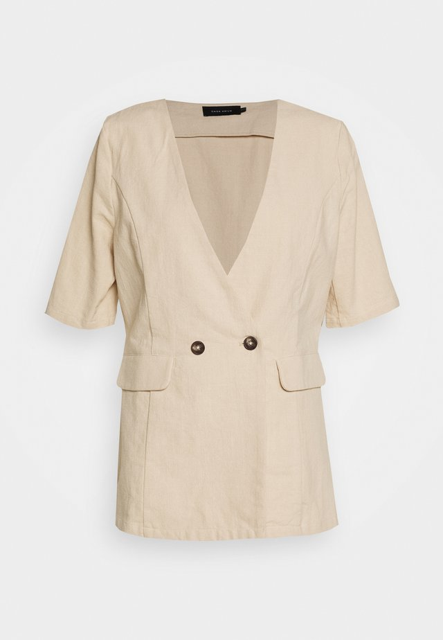 SUMMER - Short coat - natural