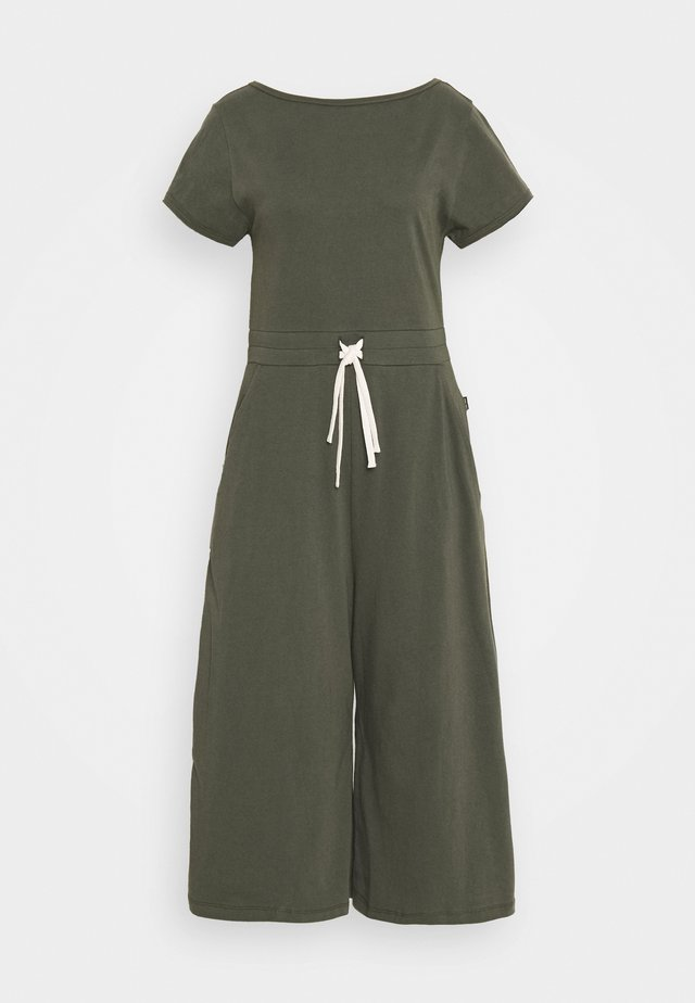 DRAWSTRING - Overall / Jumpsuit - olive