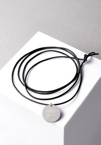 COBRAELEVEN - MIT GRAVUR BY ERDOGAN ATALAY - Necklace - silver-coloured - 2